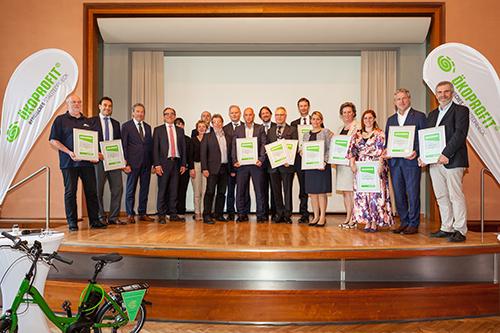 Die versammelten Preisträger