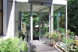 Wintergarten Eingang